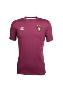 Camisa Umbro Sport Recife Concentraçáo 2020 Masculina - Vinho