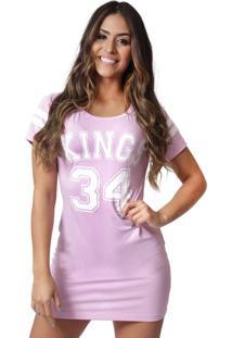 Camiseta Kings Sneakers Vest Legging 4 Rosa - Kanui