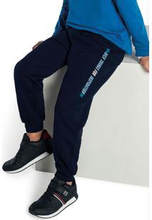Calça Jogger Masculino Azul