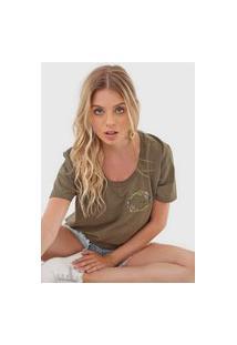 Camiseta 2Nd Floor No Rain Verde