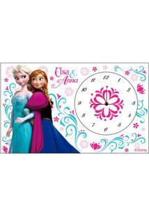Relógio De Mesa - Disney Frozen - Branco - Euroswan