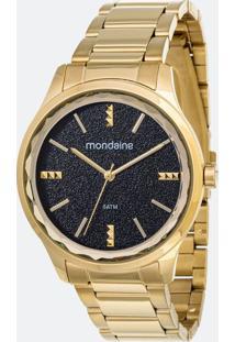 Kit Relógio Feminino Mondaine 53776Lpmvde1K Analógico 5Atm + Pulseira