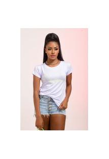 T-Shirt Girls Can Verde Neon Branco