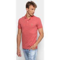 Camisa Polo Lacoste Listrada Masculina - Masculino 528af14406