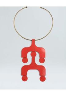 Colar Ipanema-Vermelho - Un