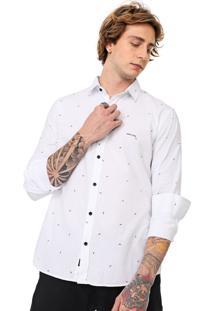 Camisa John John Reta Wire Branca