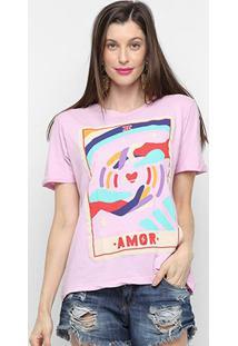 Camiseta Cantão Classic Amor Feminina - Feminino