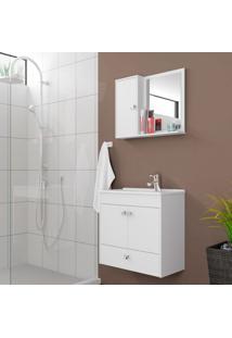 Conjunto Para Banheiro Catar Branco