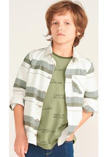 Camisa Infantil Menino Manga Longa Listrada
