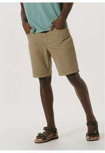 Bermuda Masculina Tradicional Em Sarja