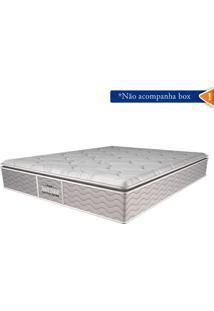 Colchão Guarda Costas Extra Firme Plus D45 Queen 30X158X198 Cc7 - Probel - Palha / Silver