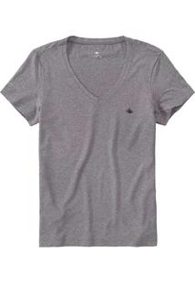 Camiseta Feminina Malwee 1000057424 60000-Grafite
