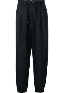 Golden Goose Drawstring Waist Trousers - Azul