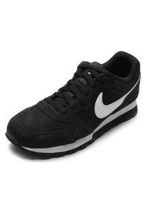 Tênis Couro Nike Sportswear Md Runner 2 Suede Preto
