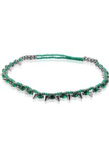 Tiara Le Diamond Spikes Verde
