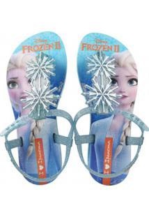 Sandália Infantil Grendene Frozen Ii Glitter Menina
