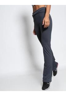 Calça Flare Performa®- Cinza Escurofila 8cd6b04b1a0ea