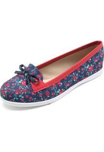 28fd85b3b Mocassim Casual Floral feminino | Shoes4you