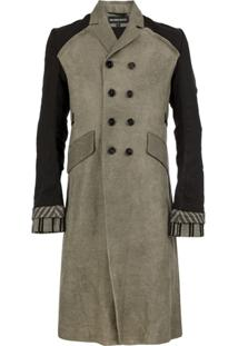 Ann Demeulemeester Trench Coat Chiron - Marrom