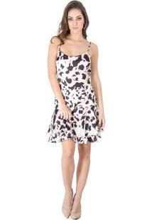 Occhi Azzurri. Vestido Animal Print Calvin Klein f542c2ccc3