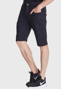 Bermuda Jeans Hno Jeans Amaciada Preto - Masculino