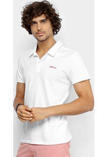 Camisa Polo Coca Cola Malha Coke Jeans Masculina - Masculino-Branco eac47d505f675