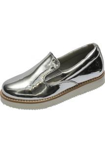 Sneaker Hobby Infantil Specchio Prata
