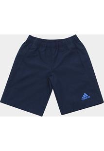 Bermuda Infantil Adidas Tr Pl Wv Masculina - Masculino