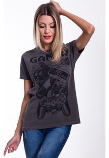 Camiseta Jazz Brasil Gamer Preto Estonado