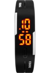 Relógio Skmei Digital Masculino - Masculino-Preto
