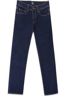 Calça Infantil Jeans Gap Fashion - Masculino-Azul