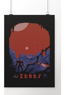 Poster Visit Zebes