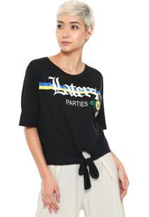 Camiseta Fiveblu Nó Preta