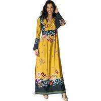 Vestido amarelo longo feminino shoes4you dafiti vestido handbook longo amarelo thecheapjerseys Choice Image