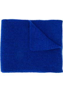 N.Peal Cachecol Canelado - Azul
