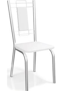 Conjunto Com 4 Cadeiras Florença Cromada 4C005 Kappesberg