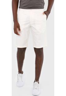 Bermuda Colcci Chino Color Off-White - Kanui