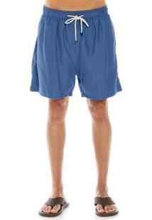 Bermuda Adulto Masculina Rovitex Azul