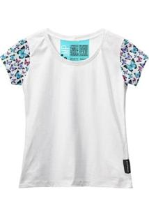 Camiseta Baby Look Feminina Algodão Estampa Animal Estilo - Feminino