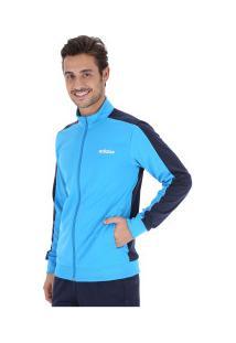 Agasalho Adidas Mts Basics - Masculino - Azul Cla/Azul Esc