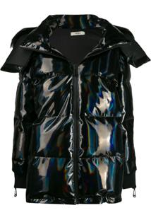 Fendi Hologram Padded Jacket - Preto
