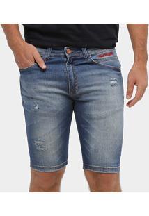Bermuda Ecko Jeans Slim Masculina - Masculino