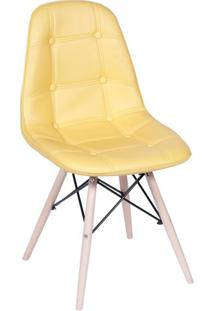 Cadeira Eames Eiffel Amarela