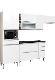 Cozinha Compacta Village 9 Pt 4 Gv Branca