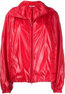 Givenchy Jaqueta Impermeável Matelassê - Vermelho