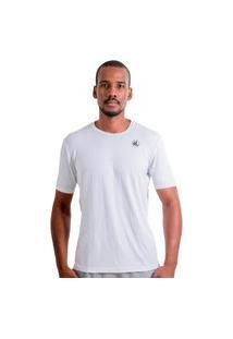 Camisa Esporte Legal Solutio Tamanho Especial Masculina Branca
