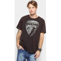 3576e0eea4 Camiseta Cavalera Palheta Ramones Masculina - Masculino