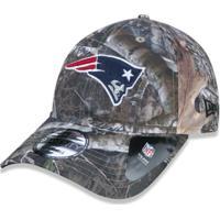 Boné 920 New England Patriots Nfl Aba Curva Strapback New Era - Masculino f0b39b08d31