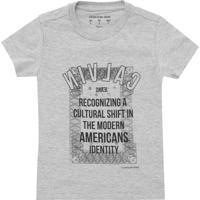 1a8e81e868e69 Camiseta Para Meninos Calvin Klein Gola Redonda infantil