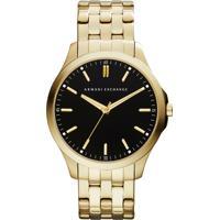 af9315215f0 Dafiti. Relógio Armani Exchange Ax21454Pn Dourado